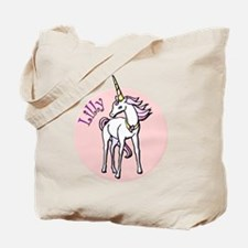 Lilly Unicorn Tote Bag