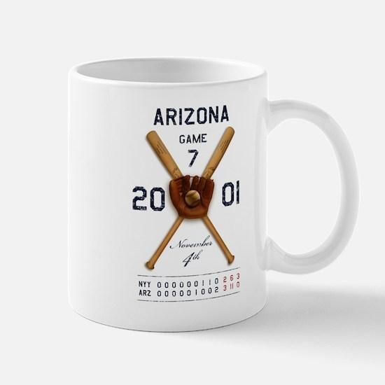 Arizona 2001 Game 7 Mug