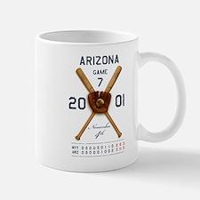 Arizona 2001 Game 7 Small Small Mug