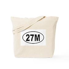 27M Tote Bag