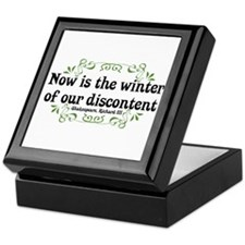 Winter of Discontent Keepsake Box