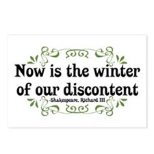 Winter of Discontent Postcards (Package of 8)