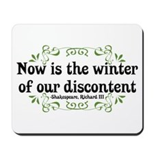 Winter of Discontent Mousepad