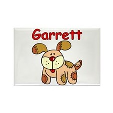 Garrett Puppy Dog Rectangle Magnet