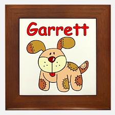 Garrett Puppy Dog Framed Tile