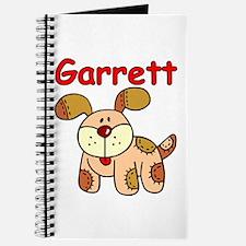 Garrett Puppy Dog Journal