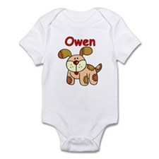 Owen Puppy Dog Infant Bodysuit