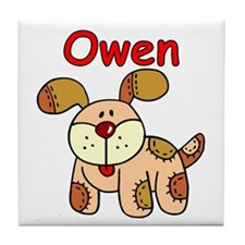 Owen Puppy Dog Tile Coaster