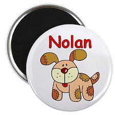 Nolan Puppy Dog Magnet