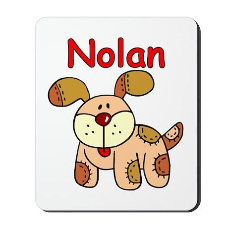 Nolan Puppy Dog Mousepad