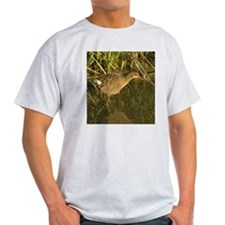 Clapper rail camo - T-Shirt