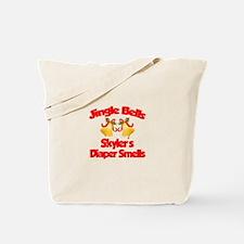 Skyler - Jingle Bells Tote Bag