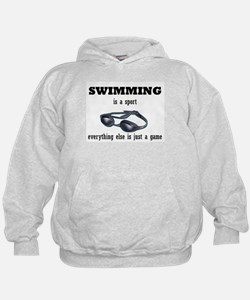 Swimming is a Sport Hoodie