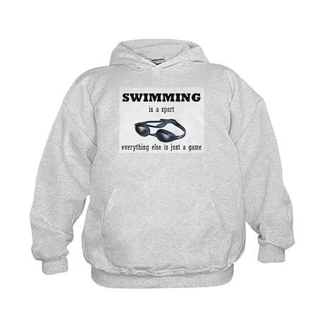 Swimming is a Sport Kids Hoodie