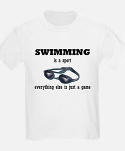 Swimming is a Sport Kids T-Shirt