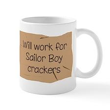 Will work for Sailor Boy crac Mug