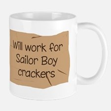 Will work for Sailor Boy crac Mug