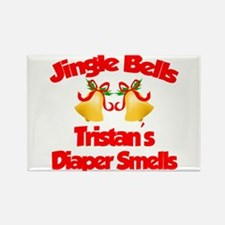 Tristan - Jingle Bells Rectangle Magnet