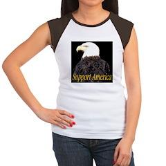 Support America Women's Cap Sleeve T-Shirt
