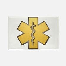 Star of Life(Gold) Rectangle Magnet