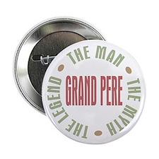 """Grand Pere French Granddad 2.25"""" Button"""