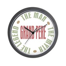 Grand Pere French Granddad Wall Clock