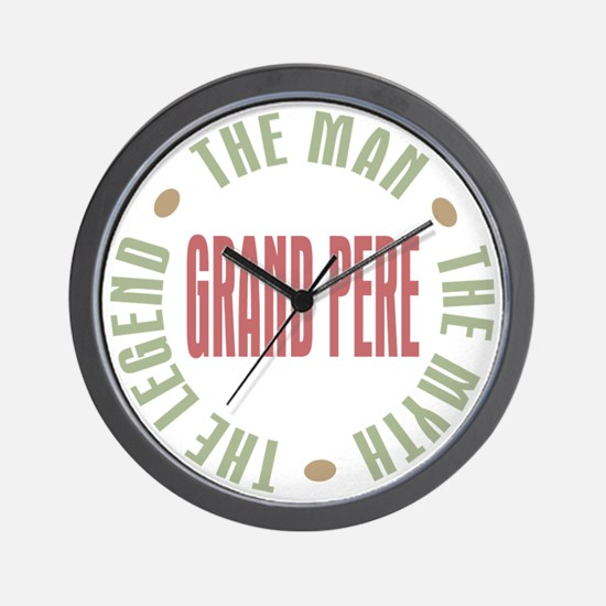 Grand Pere French Granddad Wall Clock