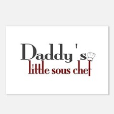 Daddy's Sous Chef Postcards (Package of 8)