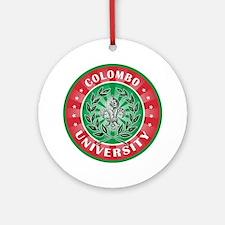 Colombo Italian Name University Ornament (Round)