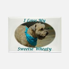 Sweetie Wheaty Rectangle Magnet