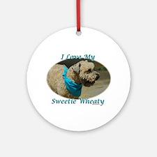 Sweetie Wheaty Ornament (Round)