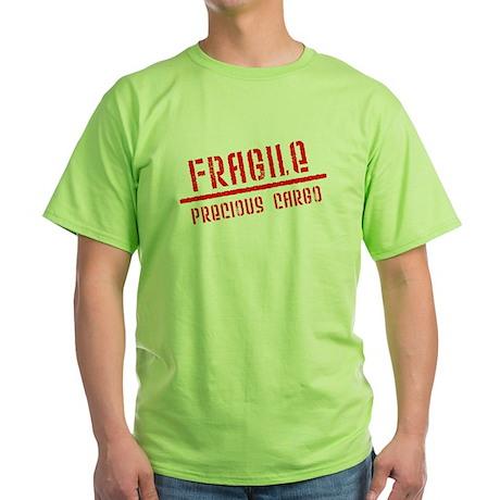 Fragile/Precious Cargo Green T-Shirt