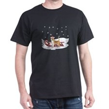 Sledding Beagle T-Shirt