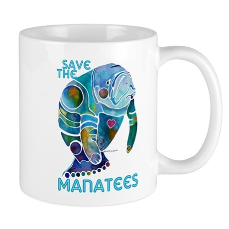 All Things SAVE the MANATEE Mug