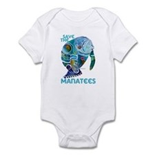 All Things SAVE the MANATEE Infant Bodysuit