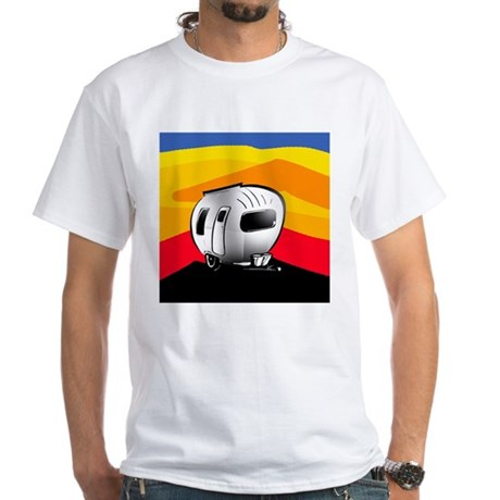 Happy Camper 2 White T-Shirt