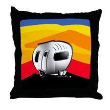 Happy Camper 2 Throw Pillow