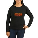 WII FM TRAN Women's Long Sleeve Dark T-Shirt