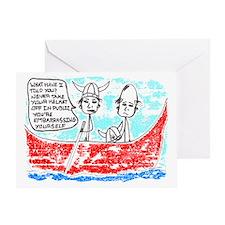 'Viking' Greeting Card