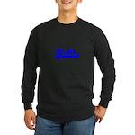 Softball REBT Blue Tran Long Sleeve Dark T-Shirt