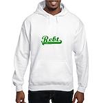 Softball REBT Green Hooded Sweatshirt