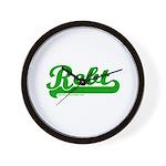 Softball REBT Green Wall Clock
