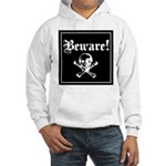 Skull and cross bones Hooded Sweatshirt