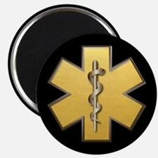 Star of Life(Gold) Magnet