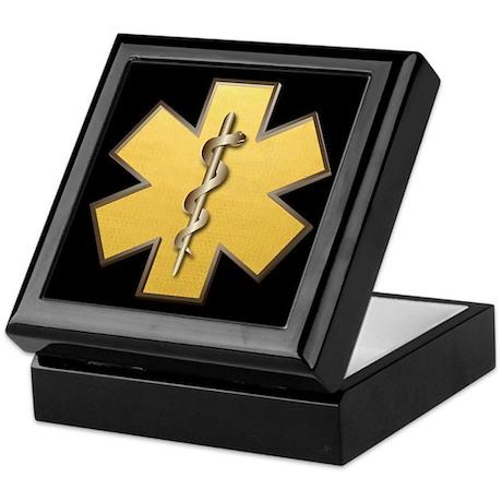 Star of Life(Gold) Keepsake Box