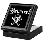 Skull and cross bones Keepsake Box