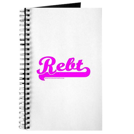 Softball REBT Pink Journal