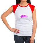 Softball REBT Pink Women's Cap Sleeve T-Shirt