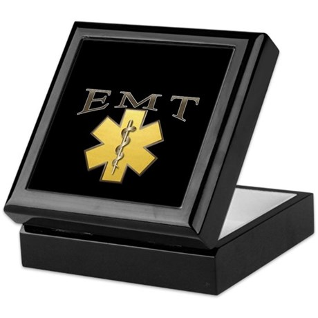 EMT(Gold) Keepsake Box