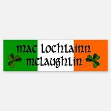 McLaughlin in Irish & English Bumper Bumper Bumper Sticker